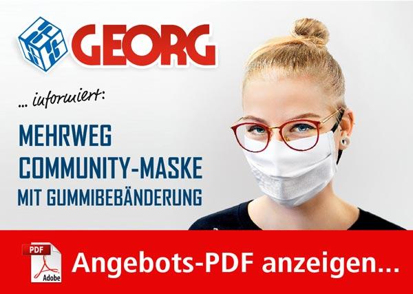 Mehrweg-Community-Maske - Angebot als PDF herunterladen