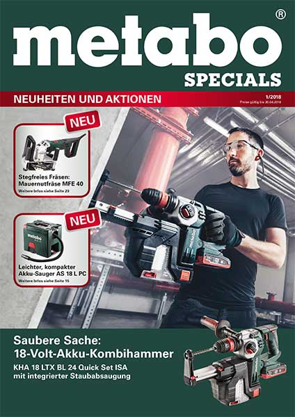 GEORG Metabo Specials 1-2018