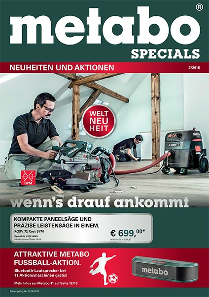 GEORG Metabo Specials 2-2016