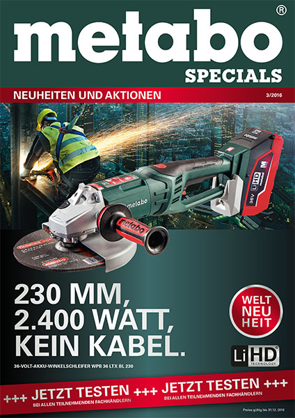 GEORG Metabo Specials 3-2016