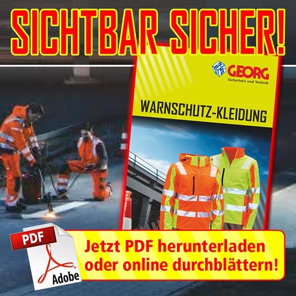 Der neue GEORG Warnschutz-Katalog