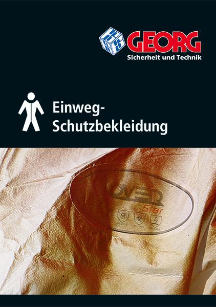 GEORG Katalog Neuheiten Einweg-Schutzkleidung